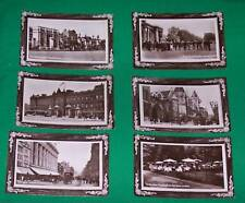 OLD RPPC REAL PHOTO POSTCARD LONDON ENGLAND ROYALTY BRITAIN SEPIA HYDE PARK VTG