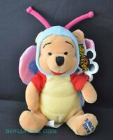 Winnie the Pooh Disney Mini Bean Bag Butterfly Mouseketoys Easter 2000 Plush Tag