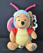 Winnie the Pooh Disney Mini Bean Bag Butterfly Mouseketoys Easter 2000 Plush Tag