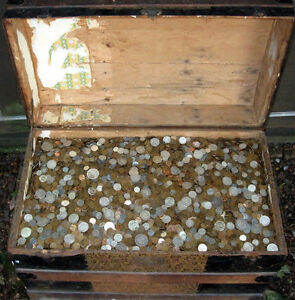 1KG  MIXED WORLD COINS FREE POST UK UP TO 1500KG FORSALE