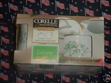 CORELLE CALLAWAY CREAMER & SUGAR SET BRAND NEW IN BOX FREE USA SHIPPING