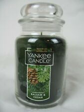 New Yankee Candle Balsam and Cedar 22 oz