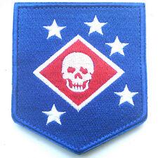 USMC MARINE RAIDERS UNITED STATES NARINE CORPS COMMANDOS USA ARMY HOOK PATCH #4