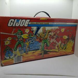 Vintage 1984 Hasbro G.I. JOE A Real American Hero Vinyl Collectors Case Complete