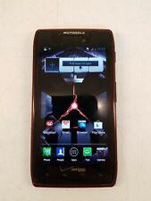 Motorola Droid Razr XT-912 Red 16GB Verizon No SIM Card Factory Reset