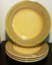 "Pier 1 TRIANA Dinner plate set of 4, 11 1/8"", Italy, Earthenware, Excellent"