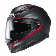 HJC F70 Feron Full Face Motorcycle Motorbike Helmet - MC1SF Red