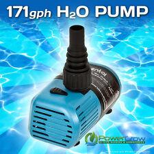 Water Pump 171 gph Elemental H2O - Aquarium Hydroponics Aquaponics Pond