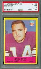1967 Philadelphia Fred Cox #100 PSA 7 Vikings New Holder Set Break