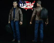 1/6 Leather Jacket Set For Matt Damon Jason Bourne PHICEN Hot Toys Figure ❶USA❶