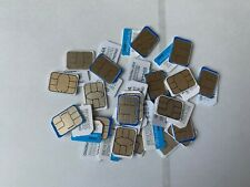 Lot of 100 AT&T  Sim Card new never been used micro size.