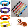 Adjustable Nylon Soft Fabric Pet Dog Cat Puppy Collar Leash With Buckle & Clip