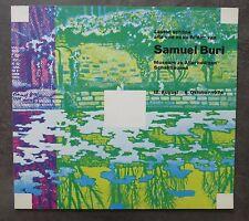 Samuel Buri. Catalogue Museum zu Allerhellingen, Schaffhausen, 1974.
