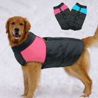 Dog Clothes for Big Dogs Winter Coat Waterproof Large Dog Jacket Vest 2XL-7XL