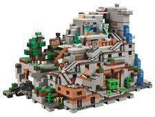 LEGO Minecraft The Mountain Cave 2017 (21137) NEW Complete Set Ages 12+ 2863 PCS