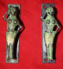 Dancing Girl Door Handle Brass Door Handle Pair Of Welcome Lady Window Pull BM69