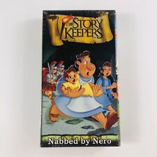 The Story Keepers A.D 64 Nabbed by Nero (VHS, 2002) Bible Story Animated