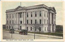Ford County Court House in Dodge City KS Postcard