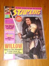 STARLOG #132 SCI-FI MAGAZINE JULY 1988 WILLOW BEETLEJUICE ROGER RABBIT