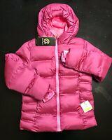 C9 Champion - Girls Puffer Jacket, Iridescent Pink, Size 7-8 (M)