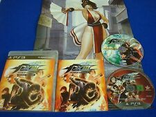 ps3 KING OF FIGHTERS XIII 13 Deluxe Edition + ART CD +Poster SNK Playstation PAL