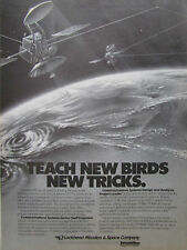 10/1986 PUB LOCKHEED MISSILES SPACE COMMUNICATIONS SYSTEMS SATELLITE MILITARY AD