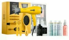 NEW In Box Drybar Buttercup Blow Dryer Fully Loaded Minibar 9 PC Gift Set