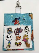 The Little Mermaid!  Pin Trading Hip and Bag Lanyard for Pin Trading at Disney!