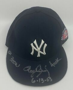 "Roger Clemens "" 300 Wins "" Signed NY Yankees Hat Sz 6 7/8 TRISTAR Hologram 3/22"
