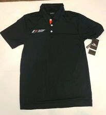 Formula 1 COTA US Grand Prix 2015 Mens Licensed Golf Polo Small NWT Reg $60