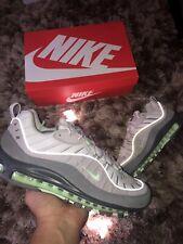 "Nike Air Max 98 ""Volt Grey/Fresh Mint"" UK 10 640744011 100% Genuine"
