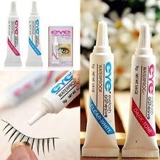 2x Waterproof Clear White Black False Eyelashes Makeup Adhesive Eye Lash Glue LJ
