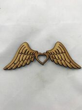 3mm MDF Angel Wings PK3 with Heart