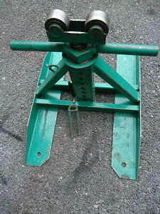 Greenlee 687 Adjustable Screw-Type Reel Stand,28 In Max Height