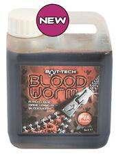 Brand New Bait Tech Bloodworm Liquid 1 Litre