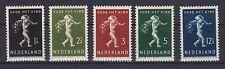 Niederlande 1939 mit Falz MiNr. 336-340