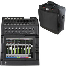 Mackie DL1608 16-Ch Digital Live Sound iOS Mixer Lightning + Gator Carry Bag