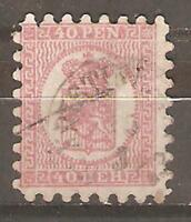 FINLAND SC  10d  USED complete perf   VF