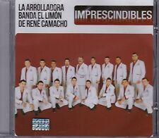 La Arrolladora Banda el Limon de Rene Camacho Imprescindibles CD New Nuevo Seale