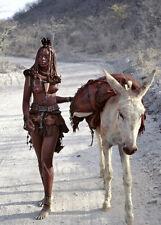 """Photographie,  """"Jeune fille Himba"""", Namibie, 2001      /     15 x 20"""