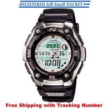CASIO AQW-101J-1AJF Fishing Moon Data Thermometer World Time Men's Watch Japan