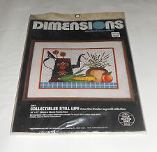 """Dimensions Counted Cross Stitch """"Collectibles Still Life"""" 3541 (14"""" x 11"""") New"""