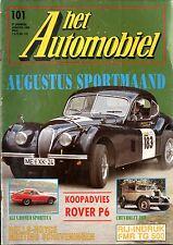 1988 HET AUTOMOBIEL MAGAZIN 101 ROVER P6 ALFA ROMEO SPORTIVA CHEVROLET 1929