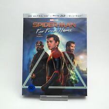 Spider-Man: Far From Home - 4K + 3D + 2D Blu-ray   w/ Slipcover & Bonus Disc