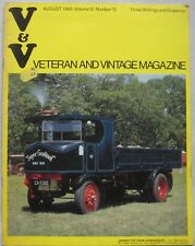 The Veteran and Vintage magazine August 1968