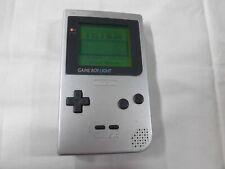 X4850 Nintendo Gameboy Light console Silver Japan GB