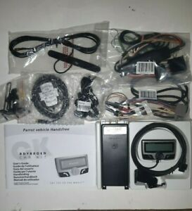 NIB Parrot CK3500 GPS Enabled Bluetooth Phone LCD Hands Free Advanced Car Kit
