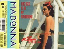 Madonna Maxi CD This Used To Be My Playground - Europe (EX/EX+)