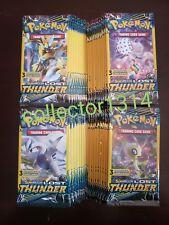 LOT OF (100) PACKS!☆ POKEMON SUN&MOON LOST THUNDER ☆3 Card  Booster Packs