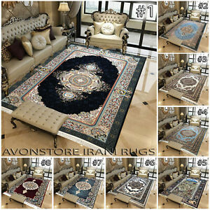 Luxury 1200 Reeds Traditional Rug Bedroom Living Room Rugs Hallway Runner Carpet